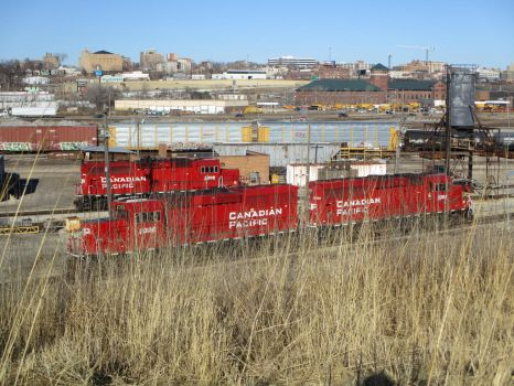 Canadian Pacific Slaves (2) by TheLOKRailfanDA