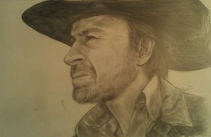 Chuck Norris by ScittyKitty