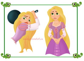WIP Rapunzel Character Sheet by Nippy13