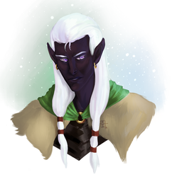 Drizzt Do'Urden by SilverIntent