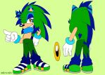 PC Spike the Hedgehog Reference by 7marichan7