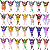 Fairy Senshi Group1 by LavenderSeaFairy