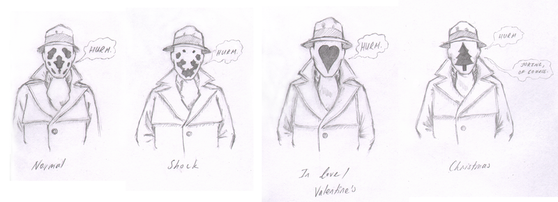Rorschach expressions by Yuanchosaan