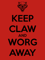 Keep Claw and Worg Away by Dowlphin