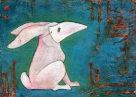 Rabbit in Mask by ursulav