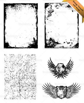 Texture and Wing Sample Vector by Vecteezy