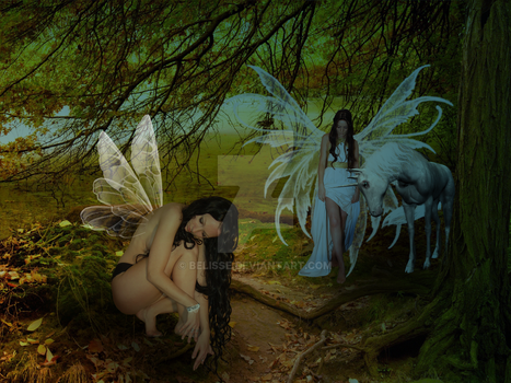Birth of a Faery by Belisse
