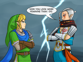 Hyrule Warriors Redesigns by Lethalityrush