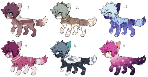 Dog Adopt Auction - (3/6) OPEN (Prices Lowered) by stoIenkisses