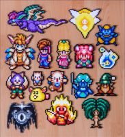 Secret of Mana sprites [for sale] by Aenea-Jones
