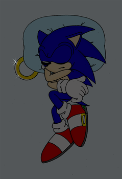 Sleep well, Sonic by ObbyGotchi990