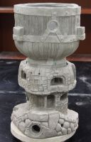Gnome dihydrogen monoxide tower by Rathsi