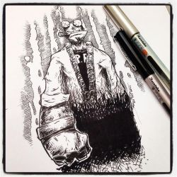 Inktober 24 OCT 2014 2 by ezwerk