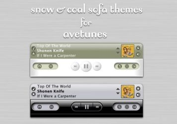 Snow and Coal for AveTunes. by RottenApple