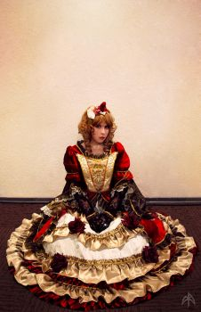 Hizaki The Rose of Versailles by PamEvangeline