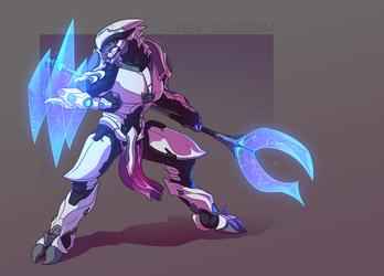 Sangheili commission - Vien 'Quitonm by Just-Rube