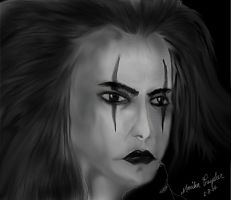 The Crow by Ainasule