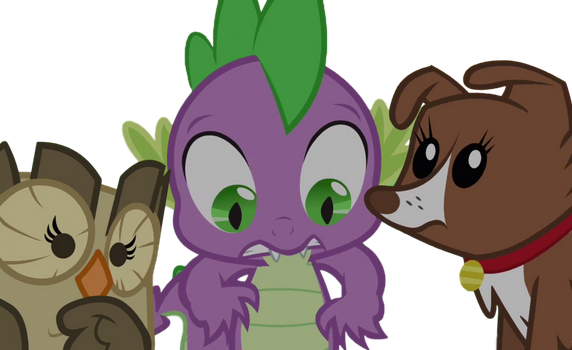 Spike and Pets (COMMISSION) by Awsomejosh13