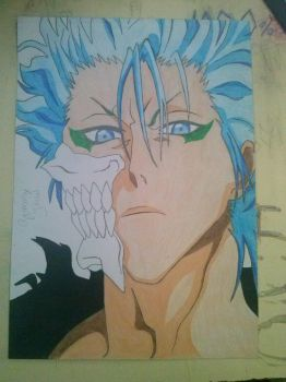 GrimmJow, by Backstap by john0711