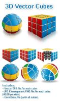 3D Vector Cubes by ArtoriusGothicus