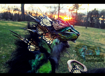 SOLD Poseable Fantasy Keeper of the Woodland by Wood-Splitter-Lee