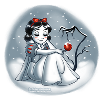 Winter Snow White by daekazu