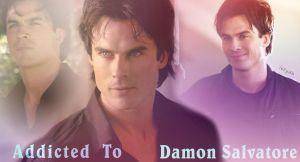 Damon Salvatore addicted by letydb