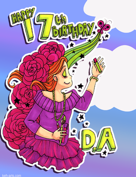 Happy 17th DeviantART by keh-arts