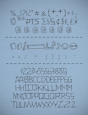 24 Boughs Font by Poemhaiku