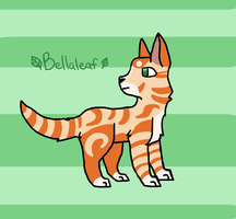 EWCEP 02 - SkyClan - Bellaleaf by Freezeash