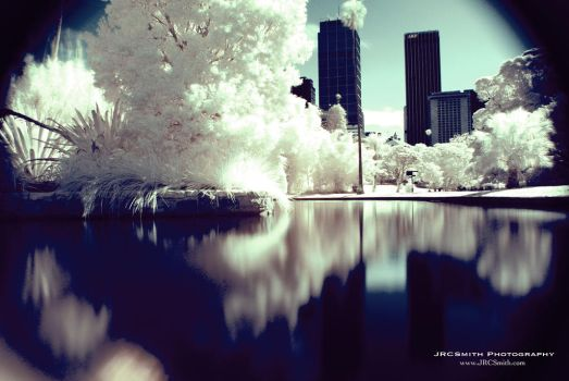 Sydney in Infrared by JRCSmith