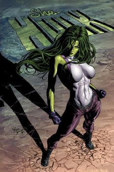 She-Hulk 29 by Summerset