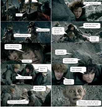 Lord of the Rings Comic 27 by ashantiwolfrider