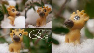 Elli_the little elk by kumArts