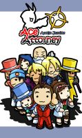 Chibi Attorney:Apollo Justice by Cessa