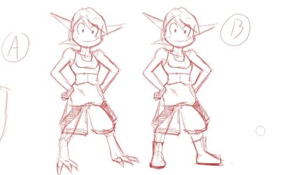 Character design, vote now! by Gx3RComics