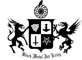 black metal coat-of-arms by acyclitor