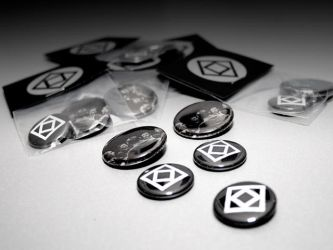 Lost In Reflections Button Set by DreadWords