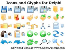 Icons and Glyphs for Delphi by shockvideo