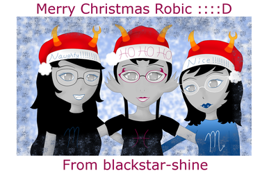 HSSS for robictheescapist by blackstar-shine