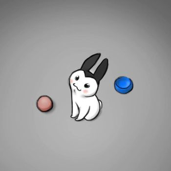Rabbit thing by RobtheDoodler