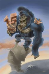 King Kong Celebrates 15 by susanavillegas