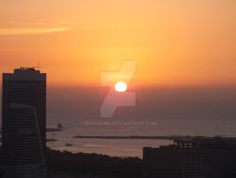 Dubai Sunet by MichaFire