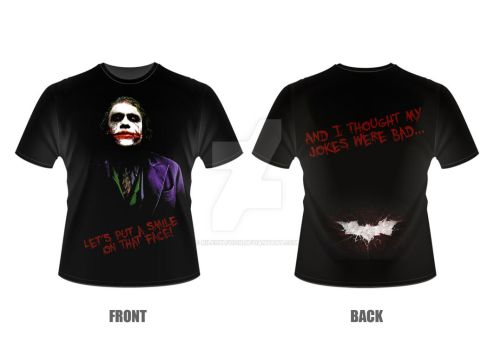 The Joker T-shirt by RileOblivion