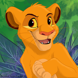 Fan Favorites #39 - Cub Simba by SpainFischer