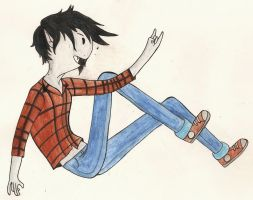 Marshall Lee the Vampire King by RoseofVictory