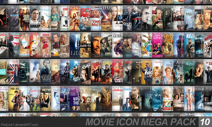 Movie Icon Mega Pack 10 by FirstLine1
