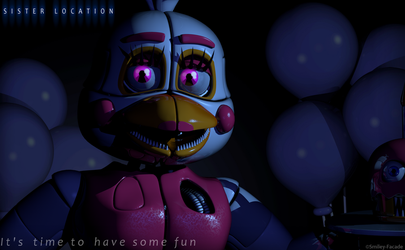 C4d | Funtime Chica  - Teaser by The-Smileyy