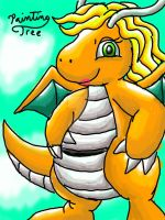 Auntie as a Dragonite by PaintingTree