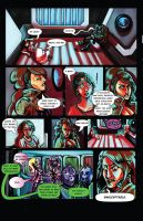 BIMBOS IN SPACE ISSUE 1: PAGE 1 by trampy-hime